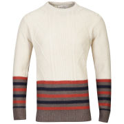 Brave Soul Men's doppler Jumper - Barley