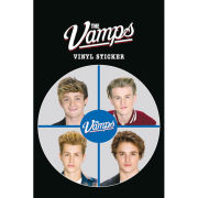 The Vamps Close Up Vinyl Sticker 10 x 15cm