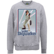 Star Wars Luke Skywalker Sweatshirt - Heather Grey