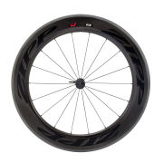 Zipp 808 Firecrest Carbon Clincher Front Wheel 18 Spokes - Black on Black Decal 2015