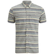 Levi's Men's Short Sleeve Slim Fit Utility Shirt - Blue