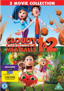 Cloudy with a Chance of Meatballs 1 en 2 (Bevat UltraViolet Copy)