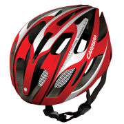 Carrera Velodrome Road Helmet Gloss Red/White