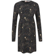 See by Chloe Women's Sparkle and Shine Long-Sleeved T-Shirt Dress - Multi