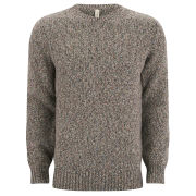 Red Ear by Paul Smith Men's Multi-Fleck Crew Neck Knit Sweater - Beige