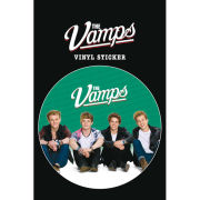 The Vamps Sit Vinyl Sticker 10 x 15cm