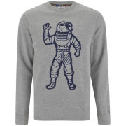 Billionaire Boys Club Men's 'Astronaut' Crew Bonded Lux Cotton Heather Sweatshirt - Grey