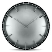 LEFF Amsterdam 45cm Wall Clock - Dome Grey
