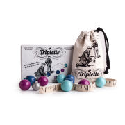 Les Jouets Libres Triplette French Petanque With Marbles
