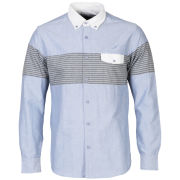 Publish Men's Helena Oxford Long Sleeved Shirt - Sky Blue