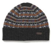 Barbour Melrose Fairisle Beanie - Grey Multi