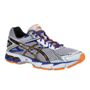 Asics Men's Gt-1000 2 Trainers - White/Black/Flash Orange