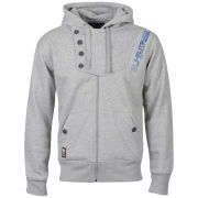 Smith & Jones Men's Construct Hoody - Light Grey Marl