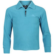 Trespass Girls Pera Half Zip Fleece - Turquoise