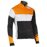 Northwave Men's Extreme Graphic Total Protection Jacket - Black/Fluorescent Orange