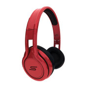 SMS Audio By 50 Cent Street Wired Headphones Includes Passive Noise Cancellation - Red