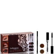Bellapierre Cosmetics Get the Look Kit Eye and Brow (Worth £73.95)