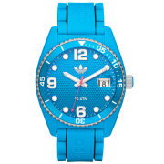 adidas Original Brisbane Silicone Watch - Cyan