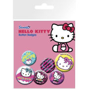 Hello Kitty Nu Rave - Badge Pack