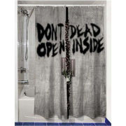 The Walking Dead Dead Inside Shower Curtain