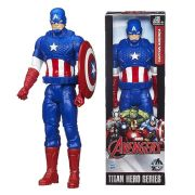 Marvel Avengers Age of Ultron Titan Hero Captain America 12 Inch Action Figure