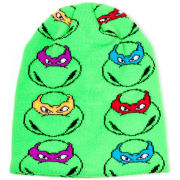 Teenage Mutant Ninja Turtles All-Over Turtles Faces Pattern Beanie