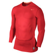 Nike Men's Core Compression Long Sleeve Top 2.0 - Crimson