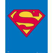 Superman Logo - Mini Poster - 40 x 50cm