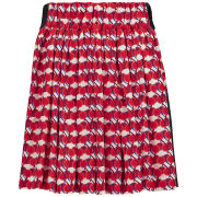 Sonia by Sonia Rykiel Women's Printed Skirt - Red