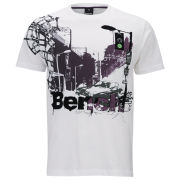 Bench Men's City Car T-Shirt - White