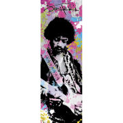Jimi Hendrix Colours - Door Poster - 53 x 158cm