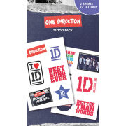One Direction Midnight Memories Tattoo Pack 10 x 17cm
