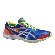 Asics Men's Gel Hyper Speed 6 Speed Running Shoes - Blue/Silver/Flash Orange