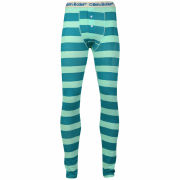Oiler & Boiler Men's Long Johns - Green Hoops