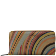 Paul Smith Accessories Women's Large Zip Purse - Multi Swirl