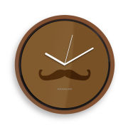 Moustache Monsiuer Clock