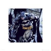Batman Classic Smoke - 40 x 40cm Print