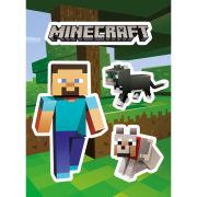 Minecraft Steve and Pets - Vinyl Sticker Pack