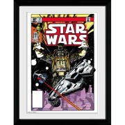Star Wars Comic Falcon - 30x40 Collector Prints