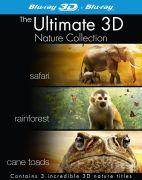 Nature Boxset 3D (Safari/Rainforest/Turtle: The Incredible Journey)