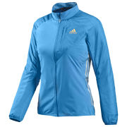 adidas Women's Tour Jacket - Solar Blue/Reflective Silver