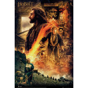 The Hobbit Desolation of Smaug Fire - Maxi Poster - 61 x 91.5cm