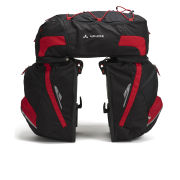 VAUDE Karakorum Pannier - Black/Red