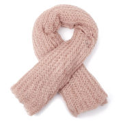 Vero Moda Women's Olivia Knitted Scarf - Rose