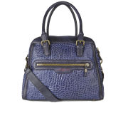 Liebeskind Women's Vaya Bubble Leather Tote Bag - Navy