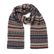 Barbour Melrose Print Scarf - Grey Multi