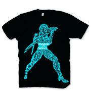 Metal Gear Solid Men's T-Shirt - Rising Chaos - Blue