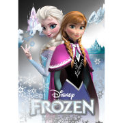 Disney Frozen Anna and Elsa - Metallic Poster - 29 x 42cm