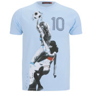 Ringspun Men's Hand Ball T-Shirt - Sky Blue