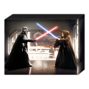 Star Wars Vader Vs Obi Wan - 40 x 30cm Canvas